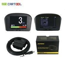 """AUTOOL 2.4 """"Multi-Fonction De Voiture OBD Smart Compteur Numérique et D'alarme Faute Code température de L'eau jauge tension vitesse affichage du compteur"""