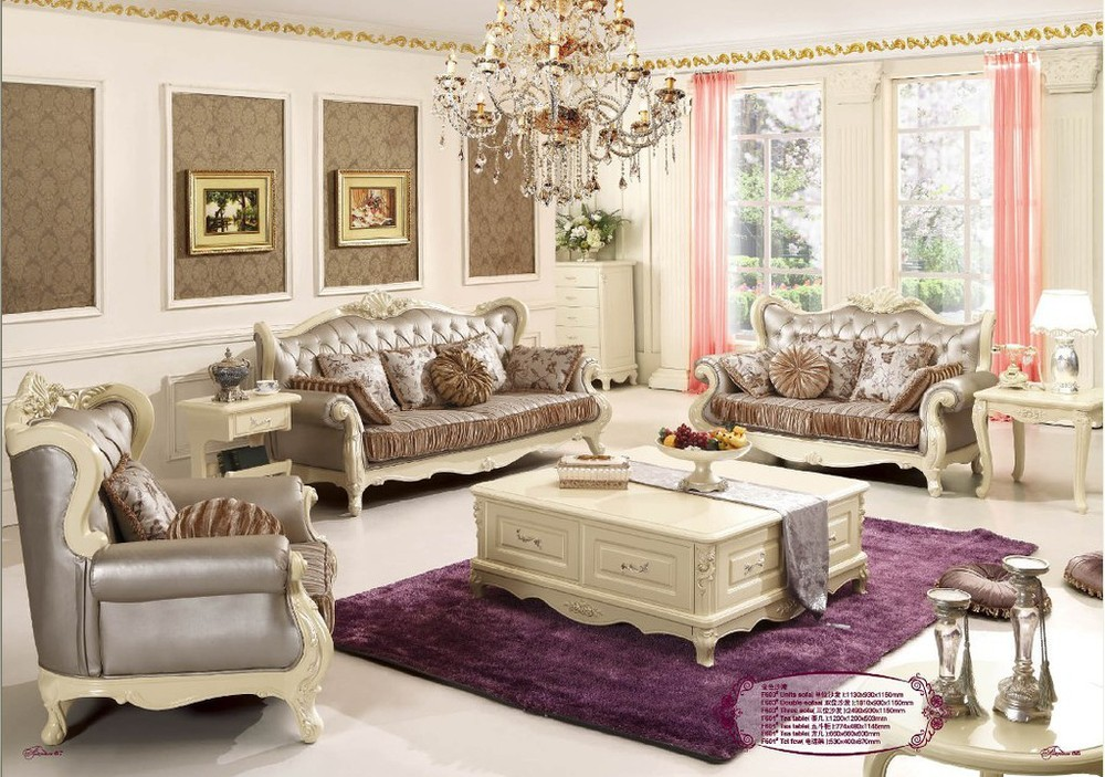 New listing carved roses romantic french luxury living for Luxury living room sofa