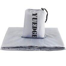 YUEDGE бренд высокое качество путешествия и кемпинга простыни мешок спальный мешок лайнер для путешествий, Молодежные общежития, самолет, поезд
