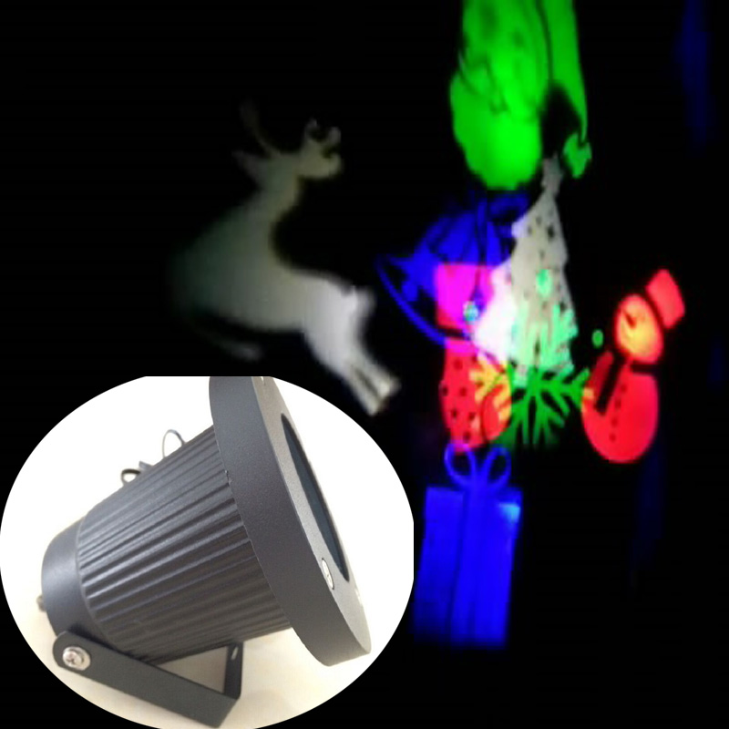 Us 36 99 Outdoor Ip65 Waterproof Latest Elf Laser Light Christmas Led Lights Snowflake Projector In Stage