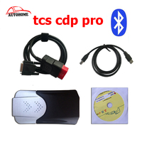 2pcs Lot 2015 R3with Bluetooth VERSION Flight Function TCS Scanner Cdp Pro Plus Connect Cars Trucks