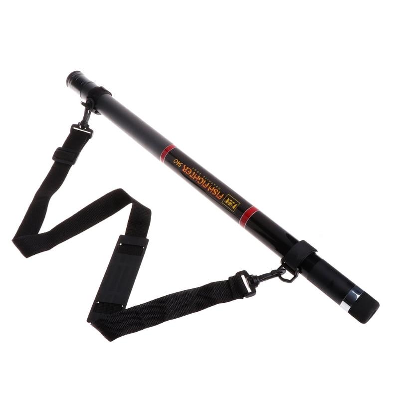 5.4M Retractable Fishing Landing Net Rod Round Stretch Brail Pole Portable Tools