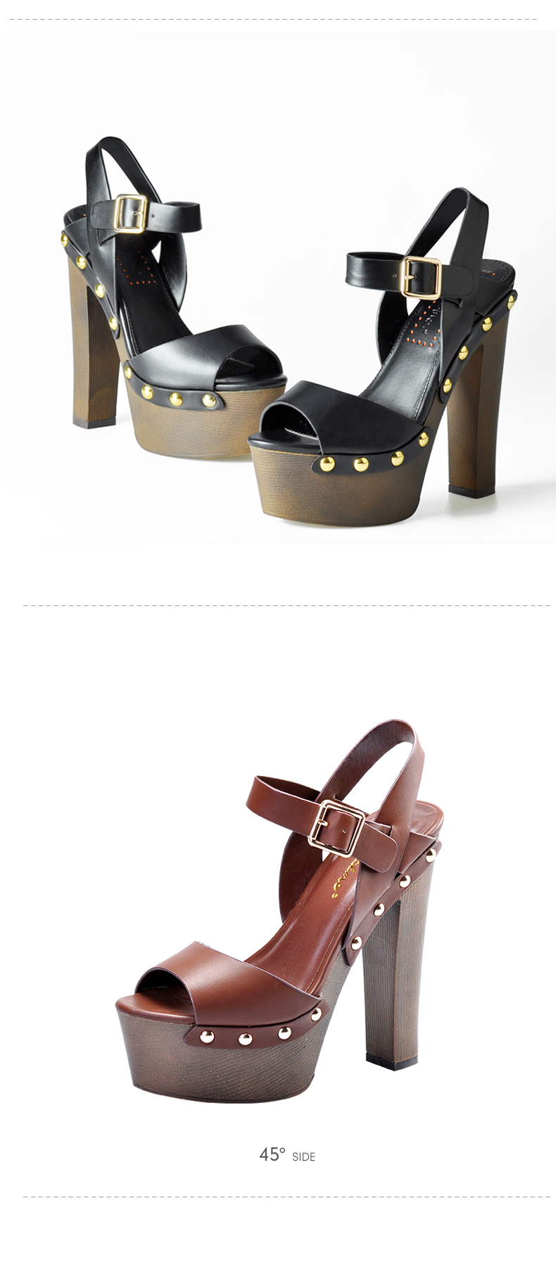 toe rivet heels wedges 3
