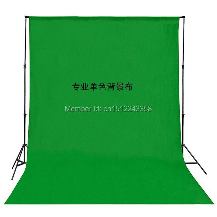 Solide couleur fond Muslin Video Photo Photographie Studio Écran Toile de Fond vert PS Découpe Customized10x10 FT