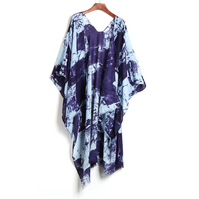 2017 Beach Cover Up Sexy Floral Printed Bikini Swimsuit Cover-Up Robe De Plage Beach Cardigan Swimwear Bathing Suit Cover Up