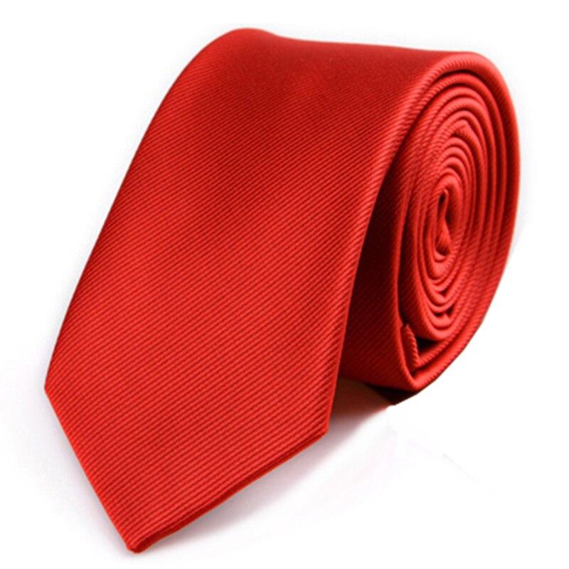 JEMEGINS Corbata Flaca De Poliéster Corbatas Simples Para Hombres - Accesorios para la ropa - foto 6