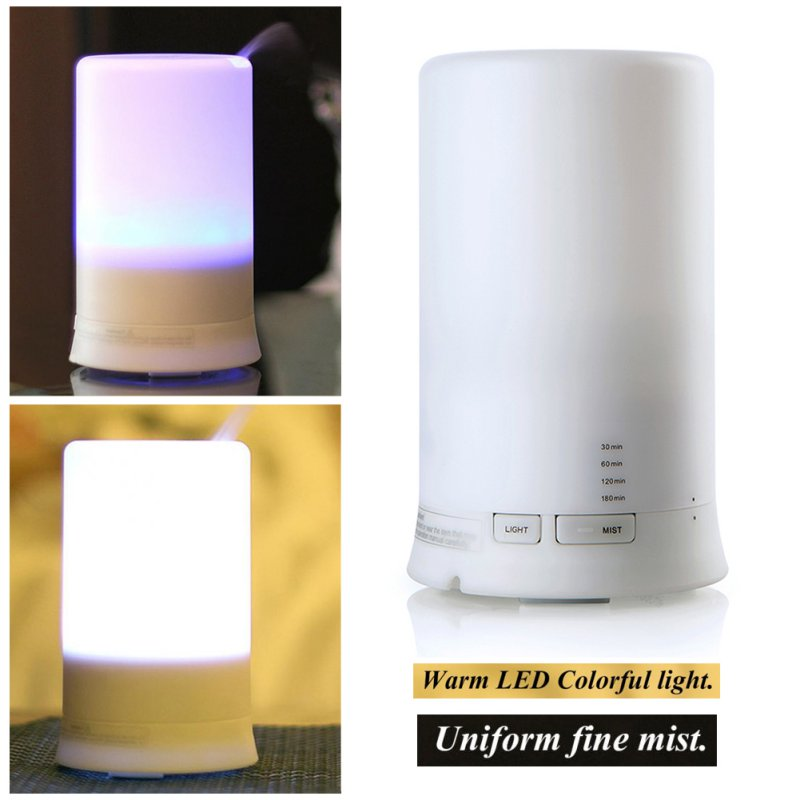 USB LED Gece Lambası Elektrikli Koku Difüzör Nemlendirici Esansiyel Yağ Aromaterapi Hava Nemlendirici H1