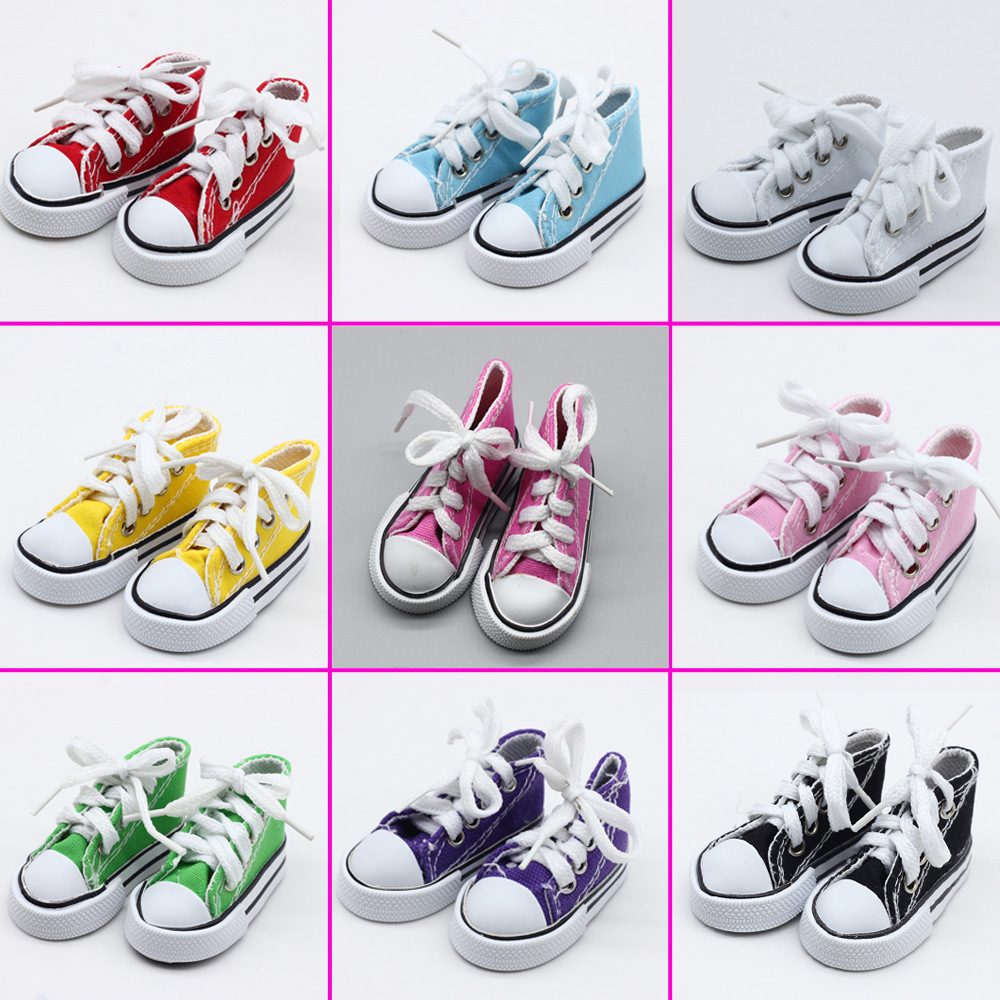 New Fashion Baby Born Doll Shoes Sport Style Shoes Canvas Shoes Fits 43 cm Zapf Dolls Baby Born and 16 American Girl 13 BJD (27)
