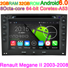 HD1024 600 Capacitive Screen Car Computer For Renault Megane Android 4 4 4 DVD Player With