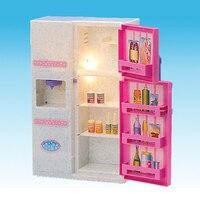 1/6 Miniature Sofa Deck Chair Fridge for Hot Toys/Blythe/Barbie Dolls House Furniture Life Scenes Decor