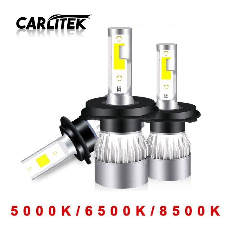CARLitek 2Pcs Led H4 H7 H1 H11 Car Headlight Bulbs 12V 24V 6500K 9003 HB2 9005 HB3 9006 HB4 H9 H8 Led Auto Car Lights 5000KCARLitek 2Pcs Led H4 H7 H1 H11 Car Headlight Bulbs 12V 24V 6500K 9003 HB2 9005 HB3 9006 HB4 H9 H8 Led Auto Car Lights 5000K