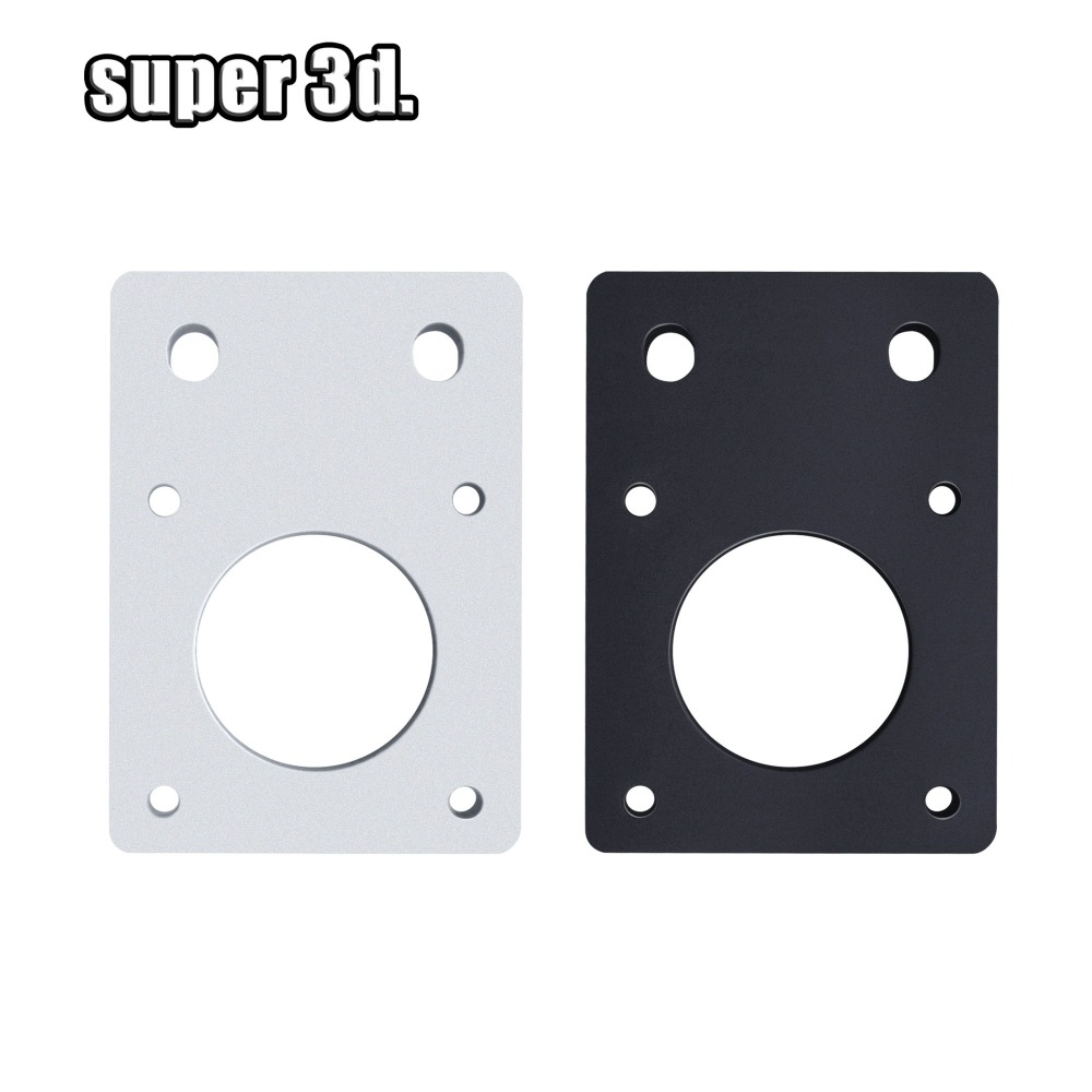 NEMA 17 42-Series Mounting Bracket Stepper Plate Fixed For For Reprap 3D Printer Aluminum  CNC Parts Fit 2020 /2040 Profiles