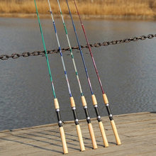 Lieywzang haste reta super resistente, 1.5 m, aachen, ml, isca em mar, cabo de madeira, multiuso, giratório vara de pesca,