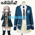 Dangonropa Chiaki Nanami Cosplay Costume Student School Uniform Japanese Game Outfit