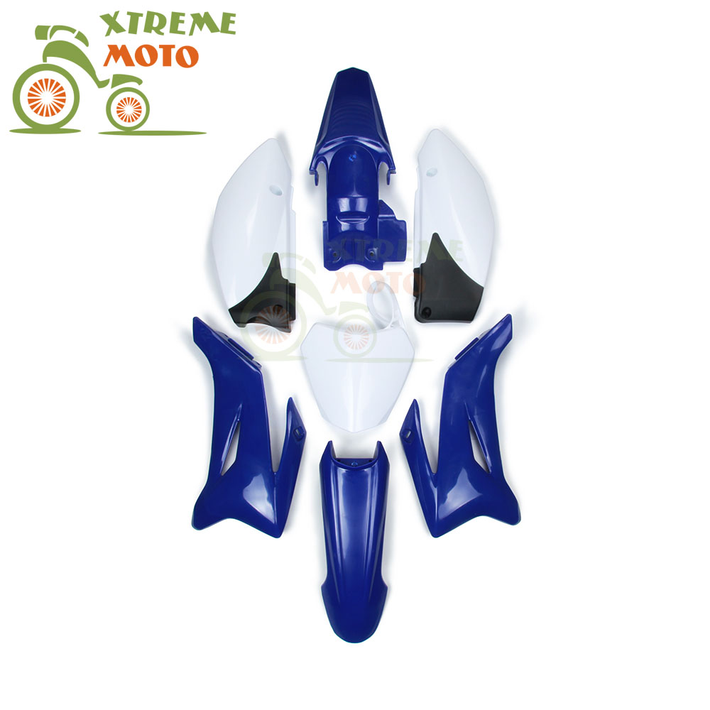 Caken Blue Plastic Body Set For YAMAHA TTR110 and Chinese 125CC Dirt Pit Bike MX Motocross Enduro Supermoto куртка insight the coup pit blue