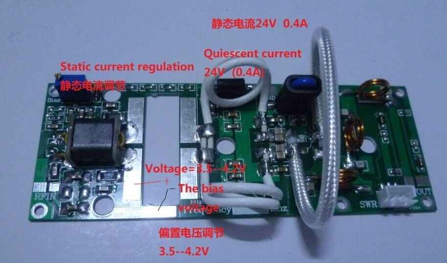 Detail Feedback Questions about 100W FM VHF 80Mhz 170Mhz RF
