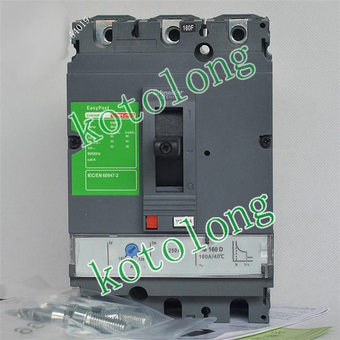 EasyPact CVS160F TMD 3P LV516331 3P-100A LV516332 3P-125A LV516333 3P-160A люстра linvel lv 9053 3 white