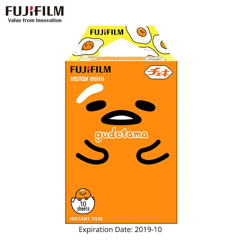 10-30 Vellen Fujifilm Instax Mini Film Instant Foto Papier Gudetama Voor Mini 9 8 8 + 7 S 7c 90 70 25 50 S Camera Sp-2 Sp-1 Printer