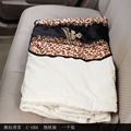 Car auto supplies cushion Italy leopard quilt cotton dual-purpose air conditioner is