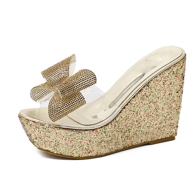 White clear sandal 1
