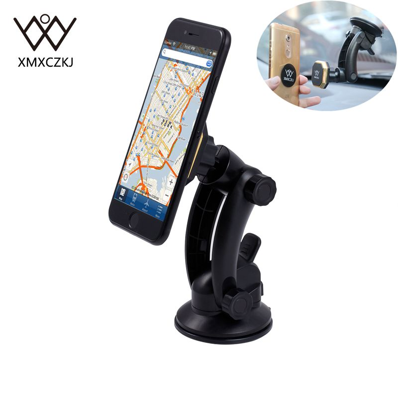 New Universal Car Magnetic Holder <font><b>Suction</b></font> <font><b>Cup</b></font> <font><b>Windshield</b></font> Dashboard <font><b>Mount</b></font> Stand 360 adjustable Magnetic Holder For iPhone Samsung