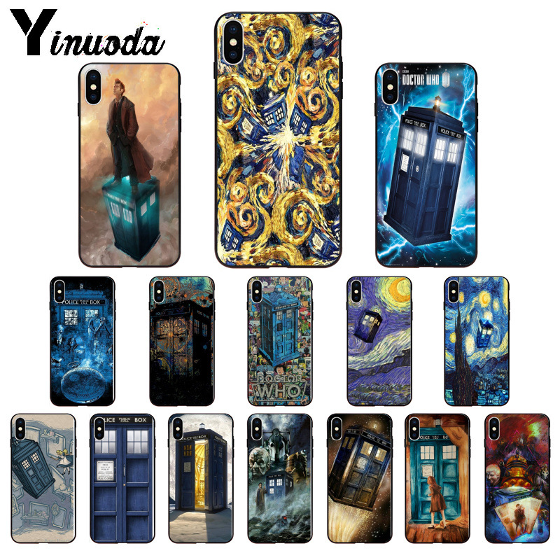 Phone Bags & Cases Cellphones & Telecommunications Purposeful Yinuoda Doctor Who Police Box Tardis Customer High Quality Phone Case For Iphone 8 7 6 6s Plus X Xs Max 5 5s Se Xr Cellphones Relieving Heat And Sunstroke