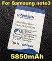 5850 mah b800bc batería b800bu para samsung galaxy note 3 n9000 n9005 n900a n900 n9002 n9008 n9009 n9006 nota $ number nota iii batería