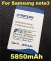 5850 mah bateria b800bc b800bu para samsung galaxy note 3 n9000 n9005 n900a n900 n9002 n9008 n9009 n9006 nota iii bateria