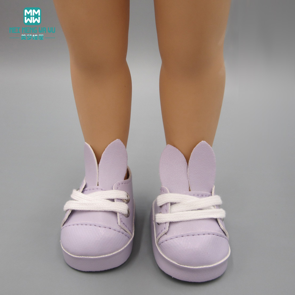 Canvas Shoes 7.5cm Doll Toy Mini Doll Shoes for 16 Inch Sharon doll Boots WL