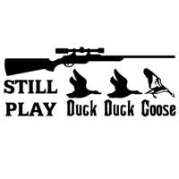 Hunt Sticker Name Hunting Shoot Duck Goose Hunter Shop Posters Vinyl Wall Decals Decor Chase Mural