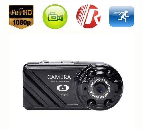 16 Gb Karte + Mini Kamera Sicherheit Nachtsicht Cam Dv Mini Sport Dvr Volles Hd 1080 P 12mp ZuverläSsige Leistung