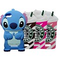 Wiko Lenny 2 cover 3D Cartoon Minions Minnie Mouse Stitch Soft Rubber Silicon Case For Wiko Lenny 2 Lenny2