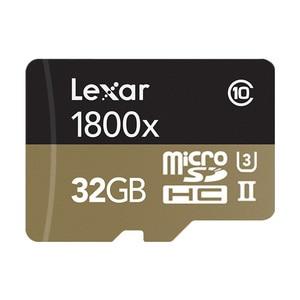Image 4 - 100% 원래 lexar 마이크로 sd 카드 1800x tf 플래시 메모리 카드 32 gb sdxc 270 메가바이트/초 카타오 드 memoria 클래스 10 u3 microsd 카트
