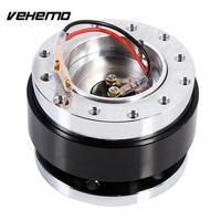 Vehemo Black General Parts Quick Release Truck Steering Release Wheel Release Dismountable Theftproof Motorcycle Race Alloy