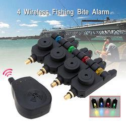 Hot sale jy 35 4pcs fishing wireless dropback led carp bite alarms 1 receiver w portable.jpg 250x250