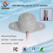 SIZHENG HD mini video surveillance sound monitor CCTV microphone high sensitive for security solutions