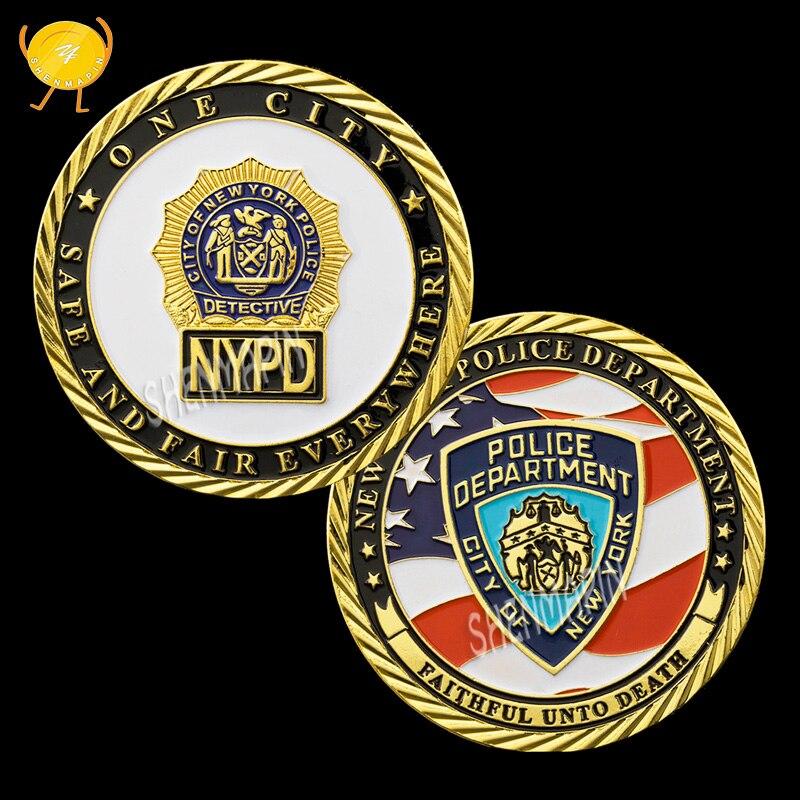 U s new york city police department commemorative coin - Garden city police department ny ...