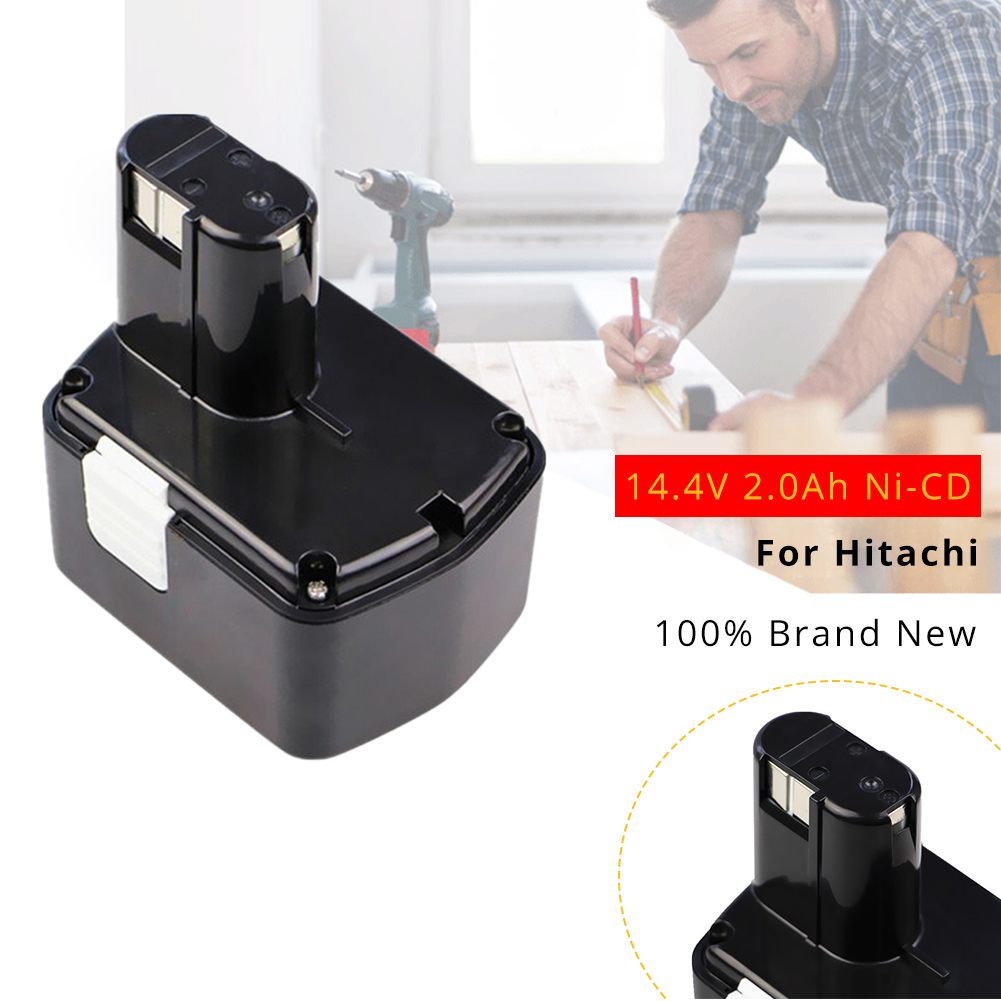 Сменный аккумулятор EB1414S 14,4 В 2,0 Ач Ni-CD для электроинструмента Hitachi, аккумулятор EB 1414S 319104 319933 EB1412S EB1420RS DH 14DL
