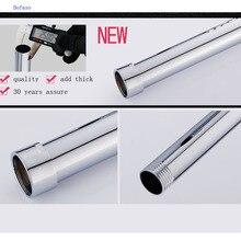 Dofaso 3/4 ''внешний диаметр 25 мм удлинитель для душа нержавеющая трубка 30 см Удлиненная душевая штанга Удлиняющая труба раздвижная штанга