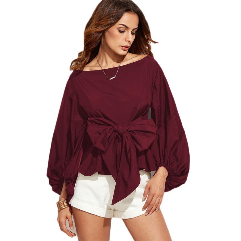 HTB1IOqFNVXXXXa7XFXXq6xXFXXXk - Shirts Women Tops Long Sleeve Lantern Sleeve Blouse