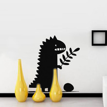 Cartoon Wall Stickers For Kids Rooms Cute little Dinosaur Decal Animal Baby Nursery Boys Room Art Removable