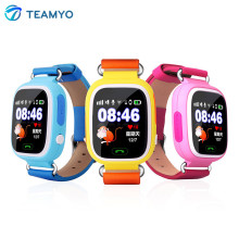 Teamyo Q90 GPS Kids Smart watch Wristwatch Children SOS Call Location Device Tracker Kid Safe Anti Lost Monitor Touch Screen