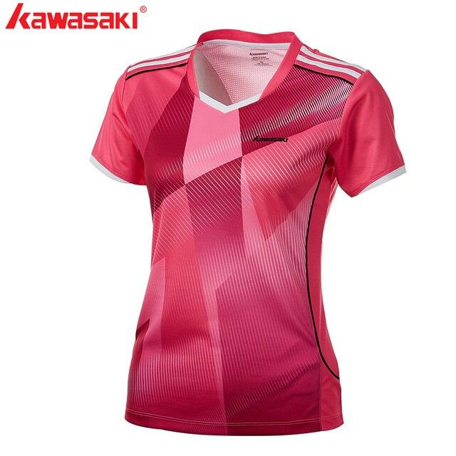 Camisetas Para 2018 De Deportiva Ropa Bádminton Kawasaki 5L3RjAc4q