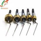5 Pcs Carbide Tip HSS Drill Bit Saw Set Metal Wood Drilling Hole Cut Tool for Installing Locks 16/18.5/20/25/30mm A21