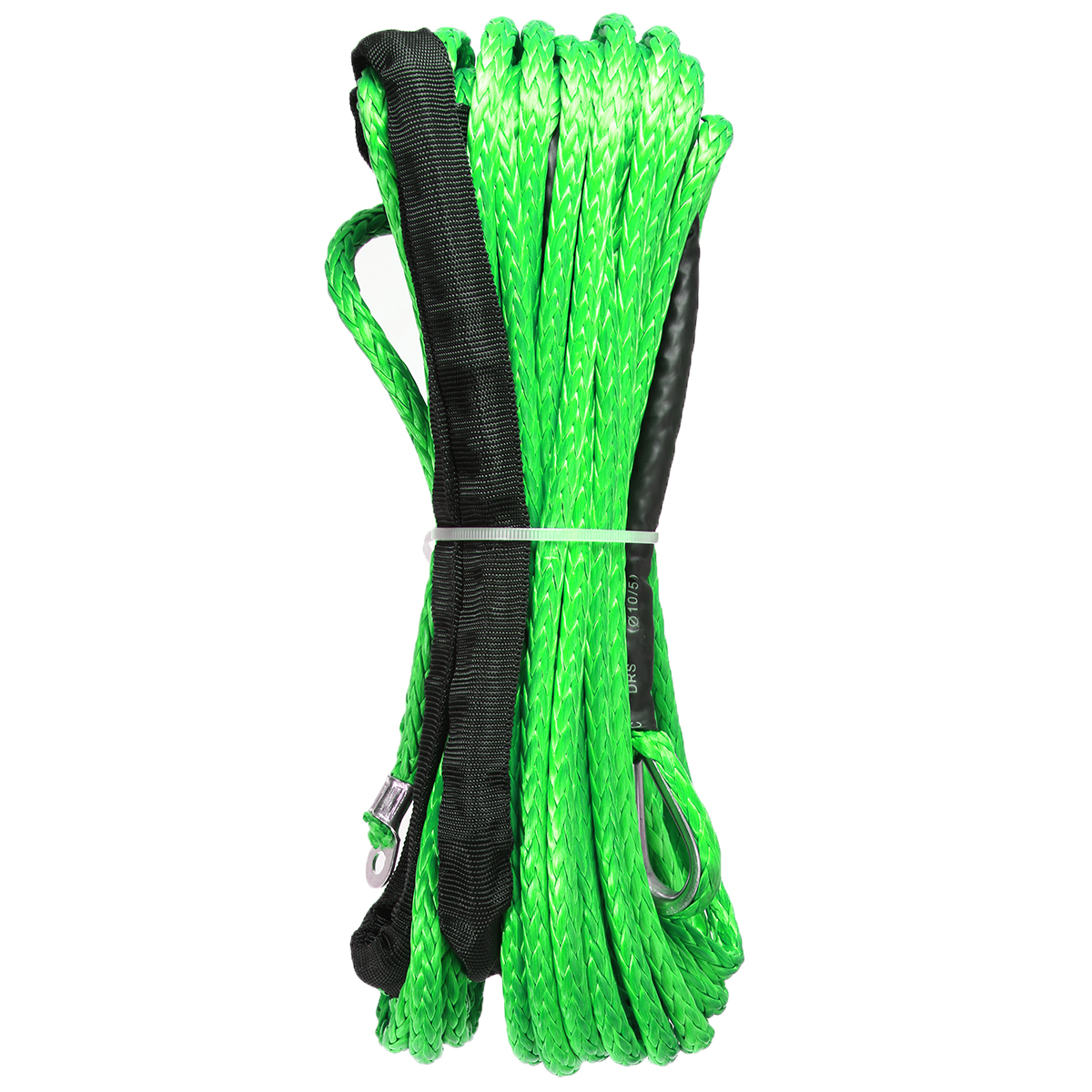 Image 5 - 15M 5500lbs Synthetic Winch Rope Cable Line Towing Accessories for ATV UTV Off Road Green-in Towing Ropes from Automobiles & Motorcycles