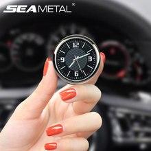 Световой автомобиль часы приборной панели цифровые часы автомобилей Air Vent клип декоративные часы в автомобильные часы автомобили аксессуары для интерьера