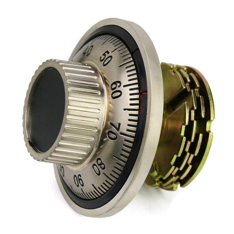 Factory Outlet Mechanical code disk lock Vault password lock Safe deposit box Accessories deposit mobilization
