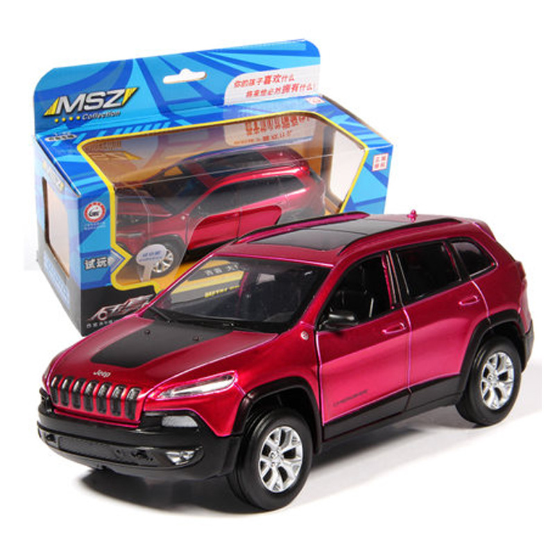132 Scale Diecast Alloy Metal Car Model For Jeep Grand Cherokee