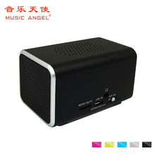 Original Music Angel Bluetooth Speaker Micro-SD Aux-in Hands-free Call Stereo Portable Speaker Bluetooth 4.0 Aluminum Frame