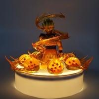 Dragon Ball Z Son Goku Crystal Balls Led Light Power Up Anime Dragon Ball Super Son Goku Led Lamp Set